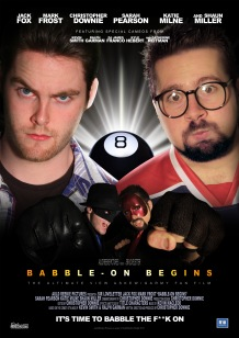Babble-On Begins Poster 2 - A4