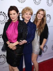 #7433643 The Paley Center for Media and Turner Classic Movies Present: Debbie Reynolds, Hollywood Memorabilia Exhibit Reception, held at The Paley Center in Beverly Hills California on June 7th, 2011.  Carrie Fisher, Debbie Reynolds, Billie Lourd  Fame Pictures, Inc - Santa Monica, CA, USA - +1 (310) 395-0500