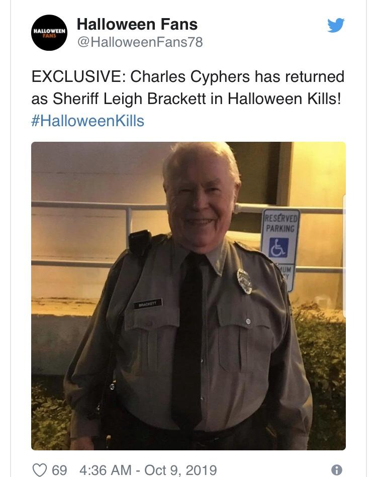 Halloween 2020 Sheriff Ties To Original Halloween Kills Set Photo Reveals Returning Character – Indie Mac User