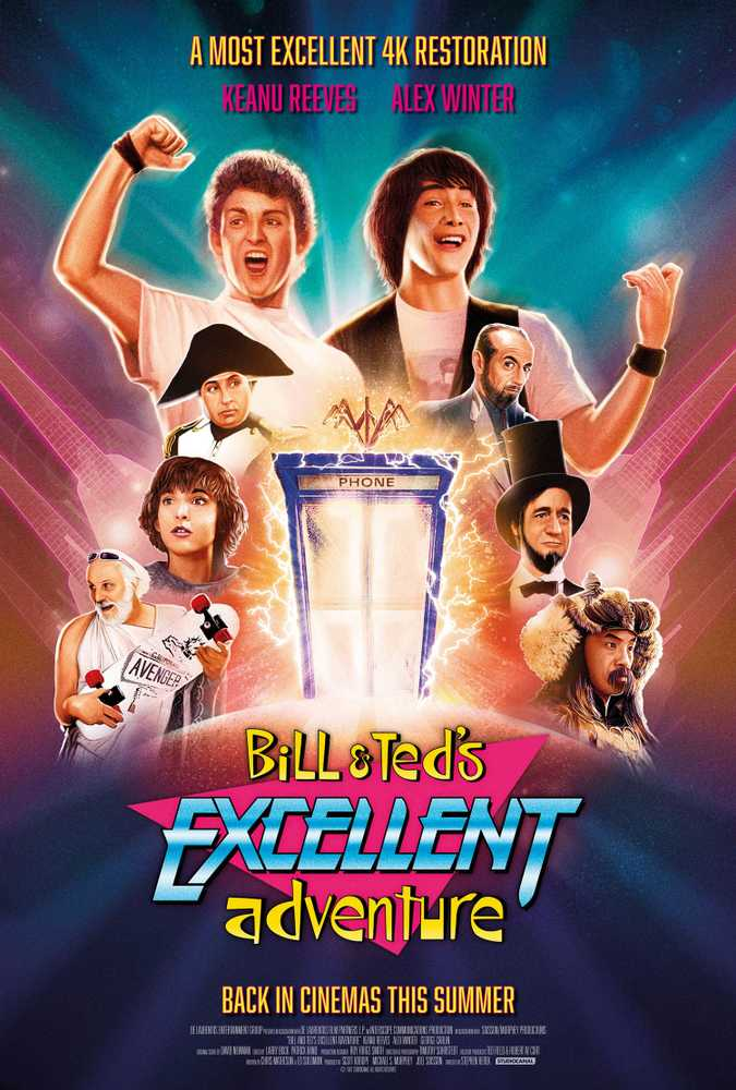 Bill and Ted's Excellent Adventure (PG, 1989)